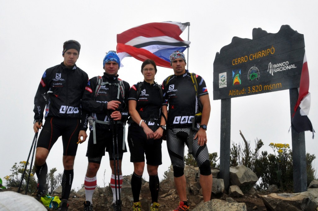 Jaroslav Krajník, Bára Válková, Tomáš Vaněk, Tomáš Petreček - MS AR Costar Rica 2013