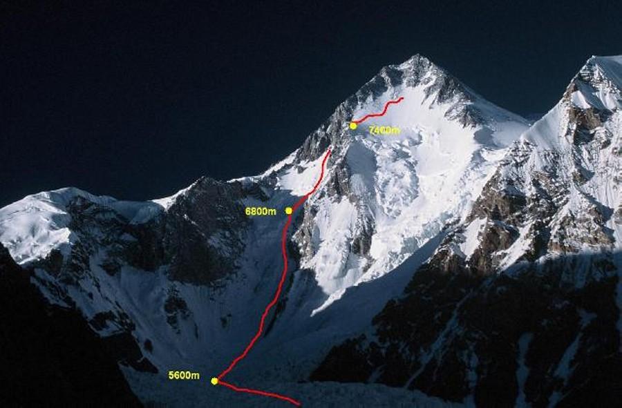 Wild Challenge Gasherbrum I-Holecek-Petrecek