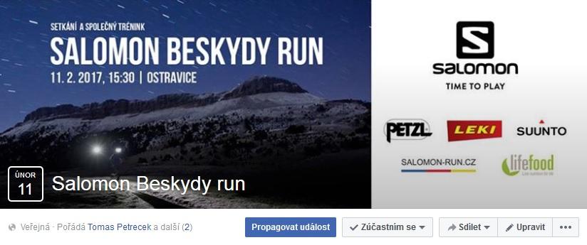 Pozvanka Salomon Run Beskydy